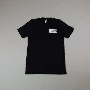LLA x VMR3 Flower Black Tee