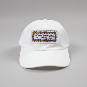 LLA x VMR3 Flower White Baseball Cap