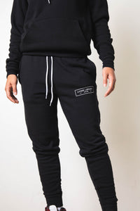 Black Unisex Jogger Sweatpants
