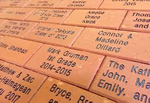 "Personalized 8""x 8"" Brick"