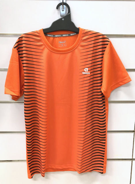 APACS T Shirt AP-3258 Orange/Black