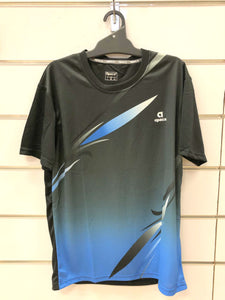 APACS T Shirt AP-3259 Black/Blue