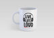 Live Life Loud Coffee Mug