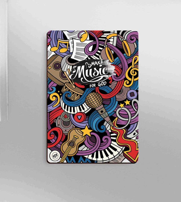 Music Doodle Magnet