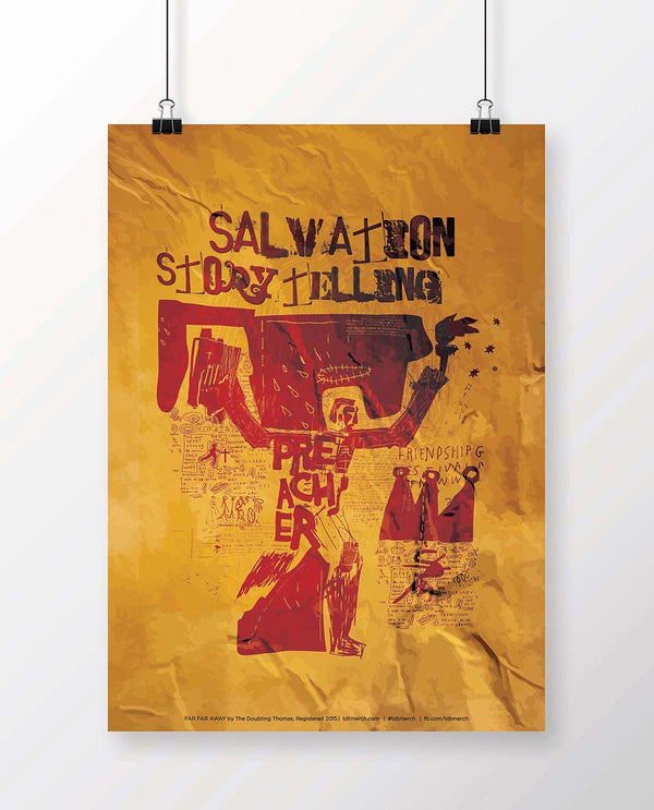 Salvation Story Telling Poster
