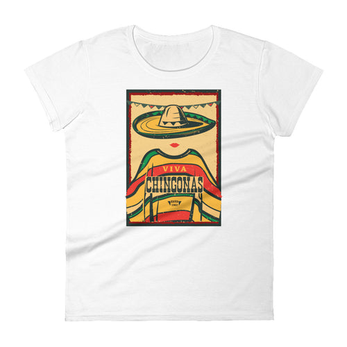Viva Chingonas! Women's Cut Tee