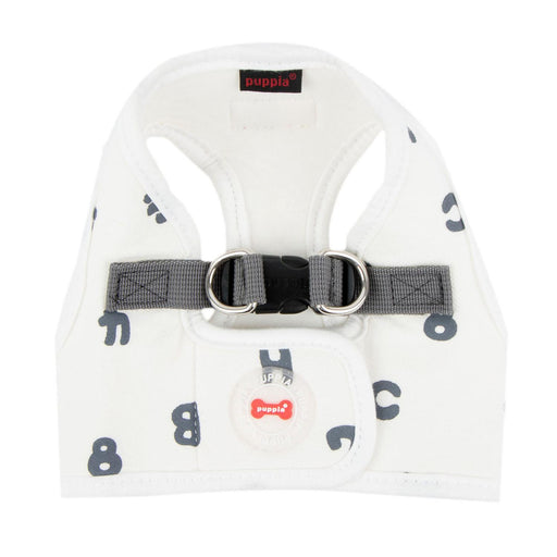 Algo Dog Harness Vest by Puppia - White - The Bark Hub