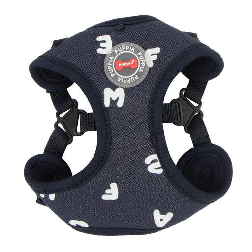 Algo Adjustable Step-In Dog Harness by Puppia - Navy - The Bark Hub