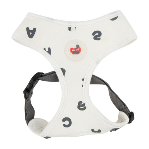 Algo Adjustable Dog Harness by Puppia - White - The Bark Hub