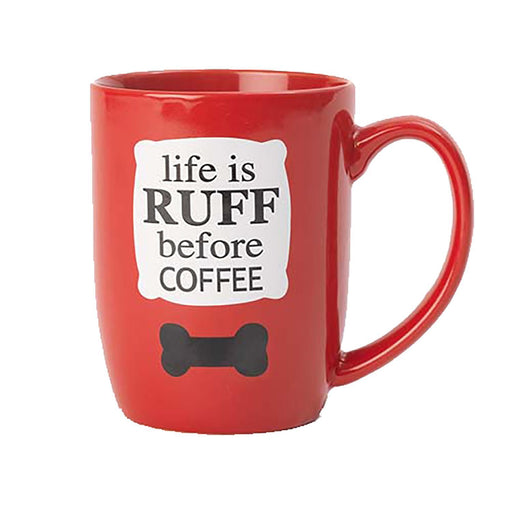 Life is Ruff Mug by Petrageous - The Bark Hub