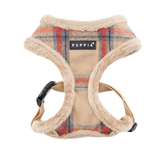 Kemp Basic Style Dog Harness by Puppia - Beige