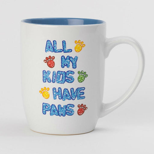 All My Kids Have Paws Ceramic Coffee Mug