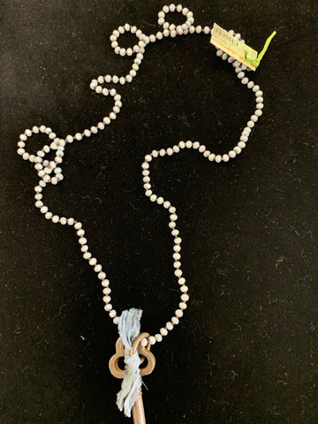 Single Key Crystal Necklace