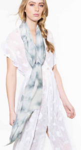 Cloud Tie Dyed Scarf