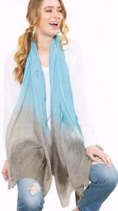 Crushed Ombre Scarf