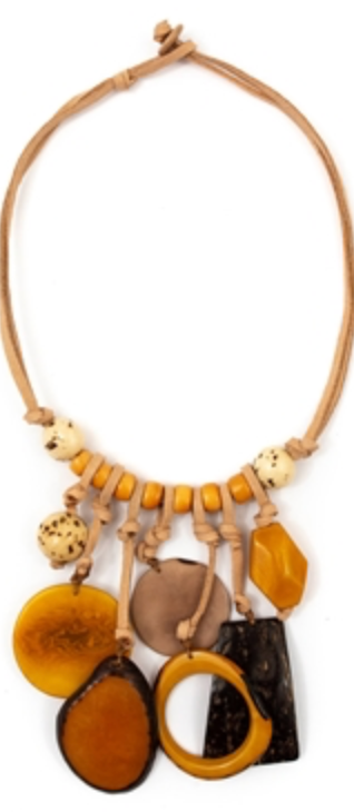 Consuelo Yellow Necklace