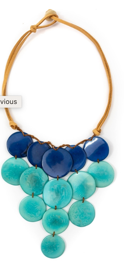 Oro Turquoise Necklace
