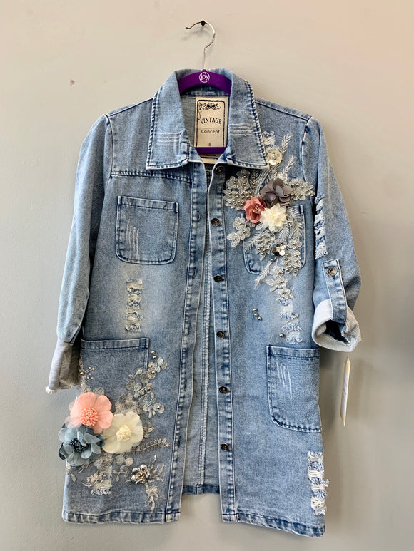 Embezzled Denim Jacket