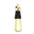 BRASS & LEATHER BOTTLE CHASING SHOEHORN 13303 BLK