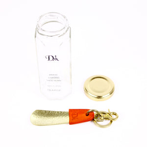 BRASS & LEATHER BOTTLE CHASING SHOEHORN 13303 OR