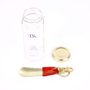 BRASS & LEATHER BOTTLE CHASING SHOEHORN 13303 RD