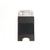 METAL PLATE CARD HOLDER 13323 BLK