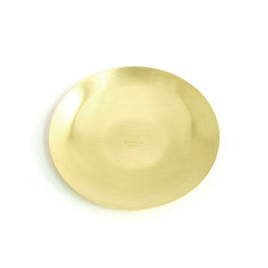 BRASS ROUND TRAY  13905 GD