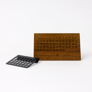DESKTOP ETERNAL CALENDAR 13908 BLK