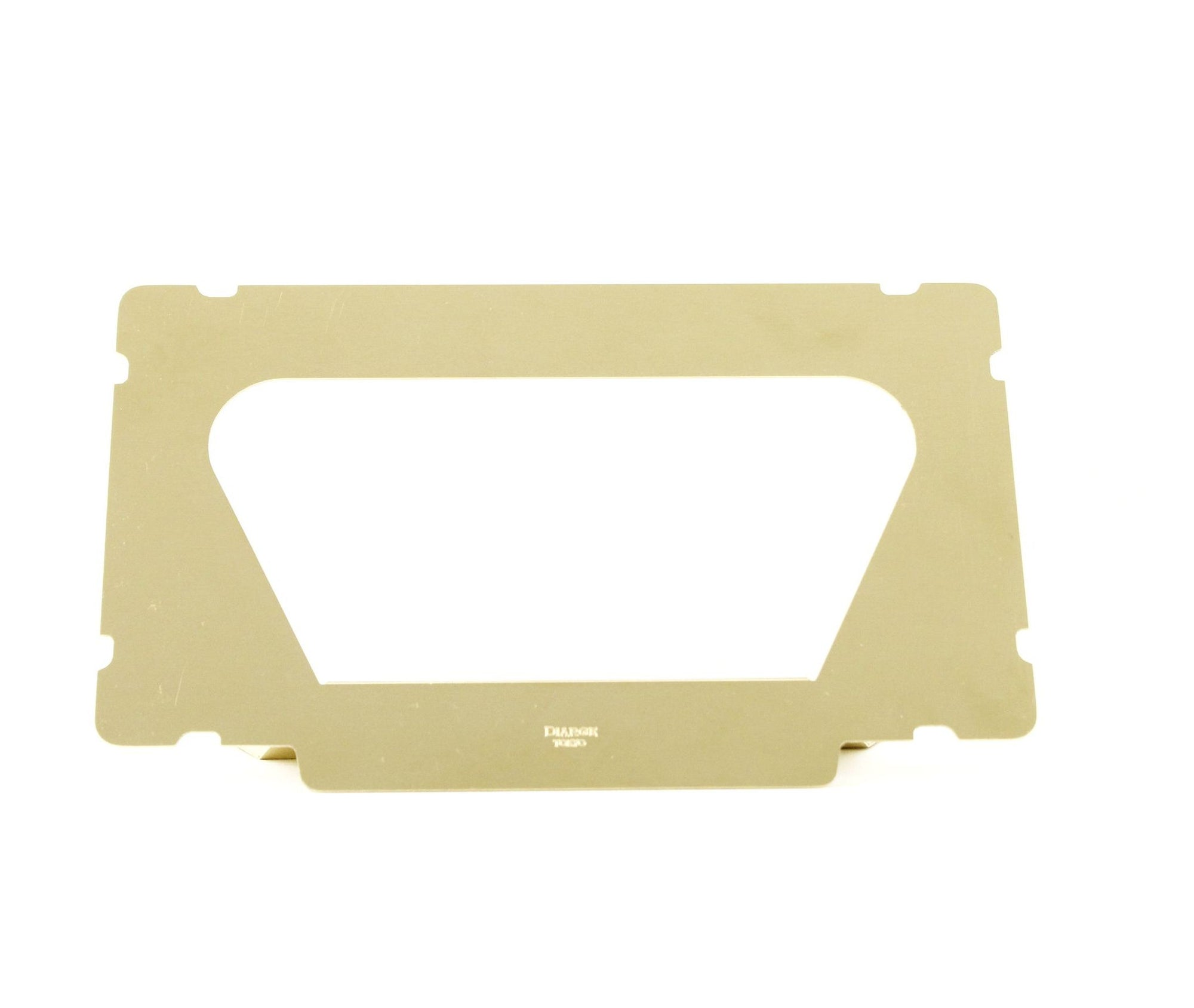 BRASS FASE MASK STAND 13910 GD