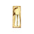 BRASS CHASING SHOEHORN(16cm) 14301 GD