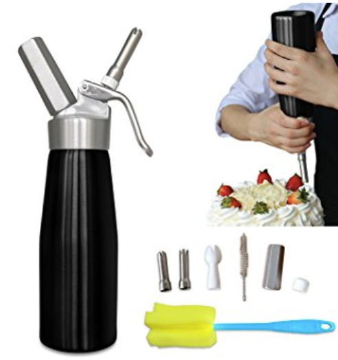 Animato Whipped Cream Dispenser Animato Kitchen