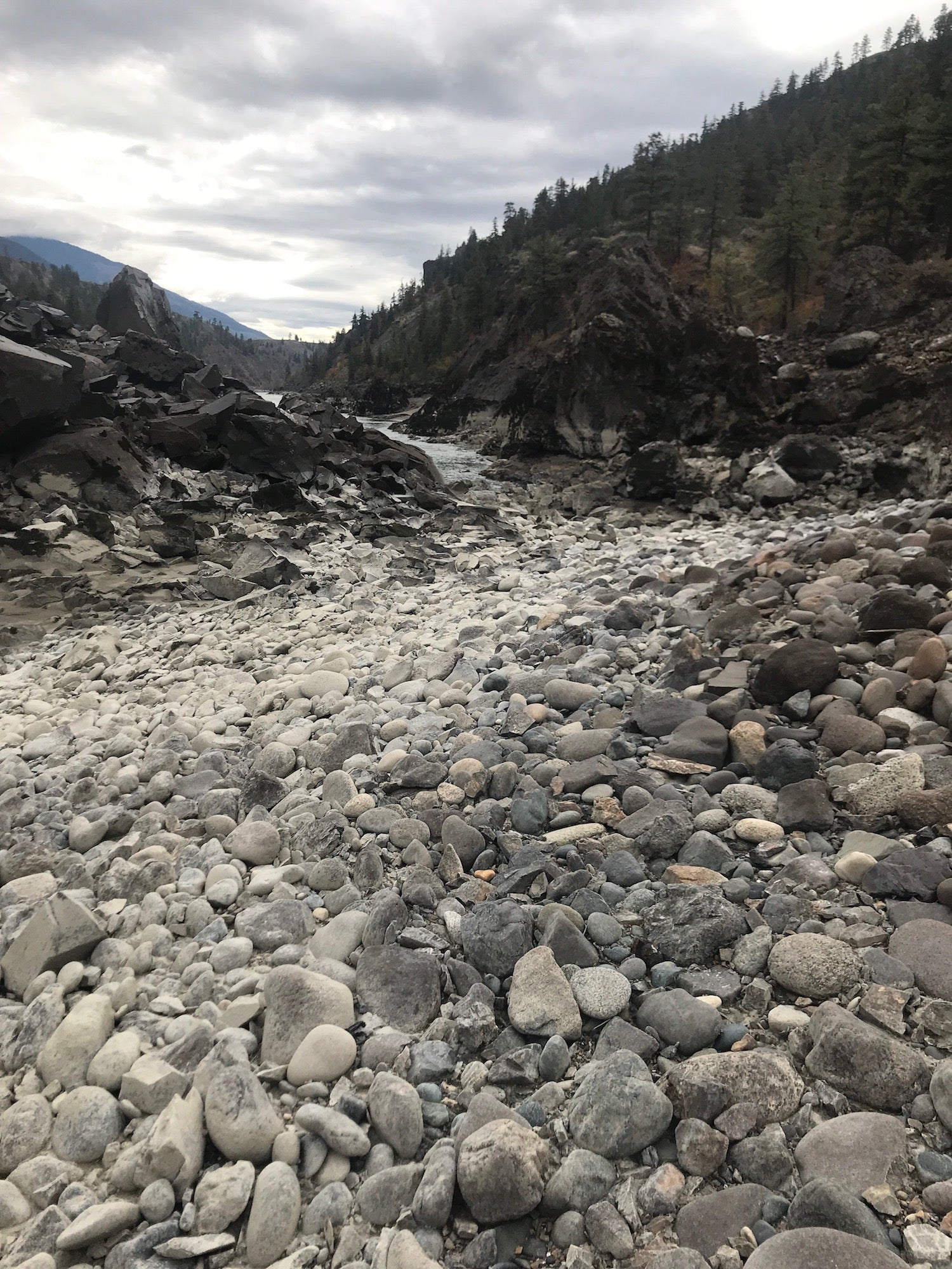 Vanishing Point Fraser River BC Gold Claim For Sale