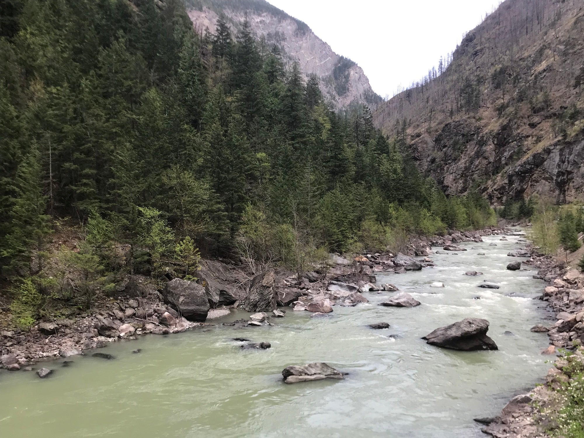 Hell Creek Bridge River BC Gold Claim For Sale