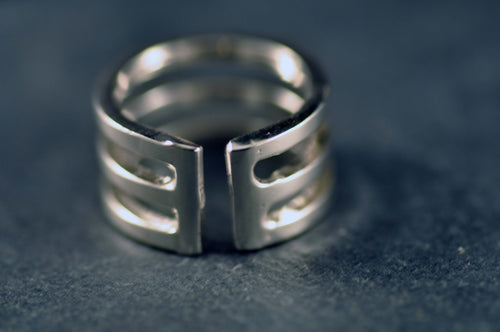Tripartite ring