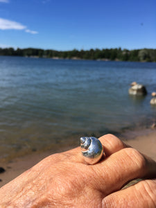 Airy ring with periwinkle