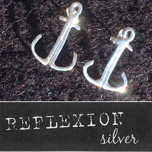 Ankarörhängen / Anchor earrings