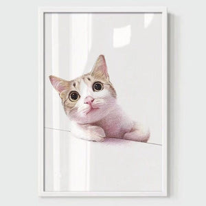 Modern Minimalist Pet Decorative Painting