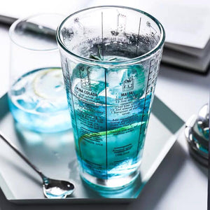 Glass Bartending Snow Grams Cup