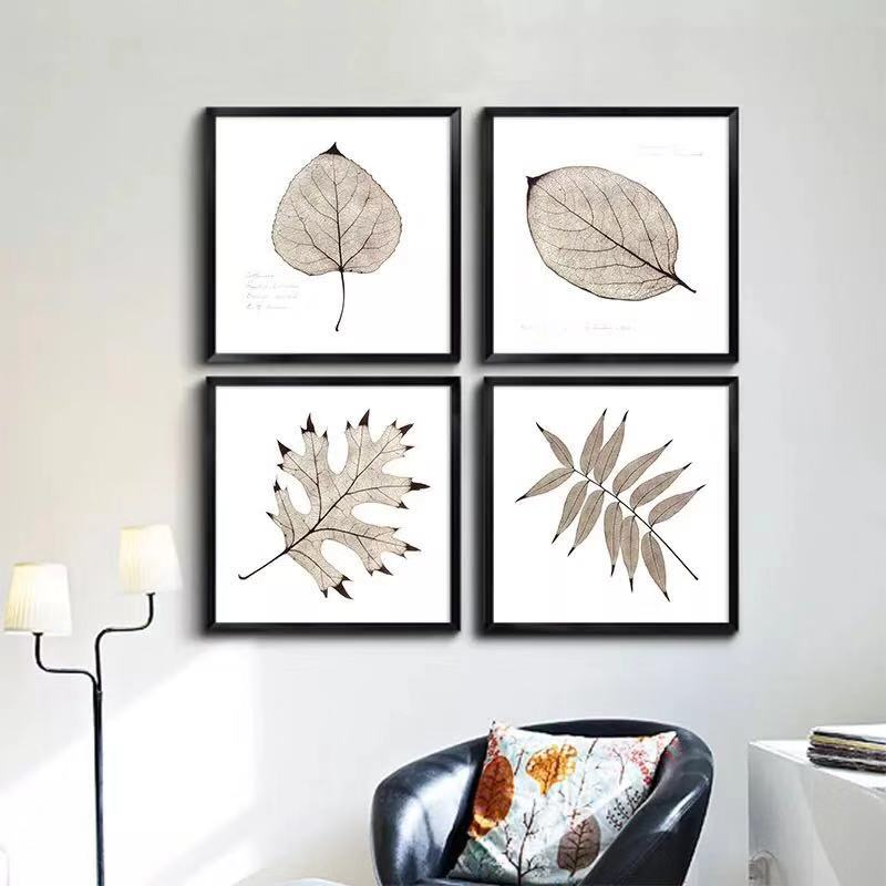 Vintage Leaves Decorative Painting
