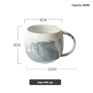 Marbled Valentine's Day Mug