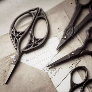 Handmade Vintage Stainless Steel Household Scissors