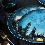 Hand-Painted Creative Bone China Western Dish