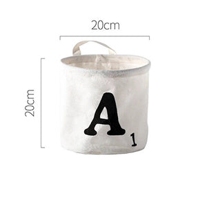 Nordic Style Letter Storage Bucket