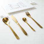 Sole™ Gold Dinner Set