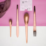 Lasi™ Rose Gold  Dinner Set