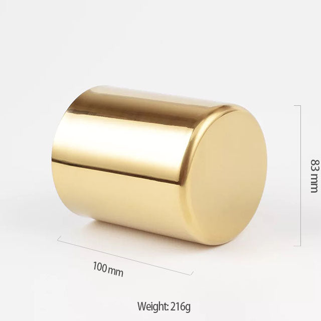 Nordic Style Gold Round Pen Holder