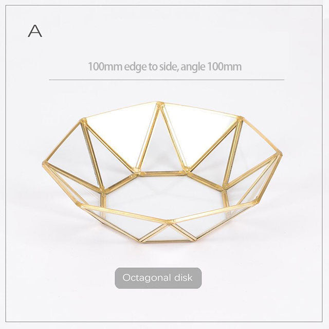 Nordic Glass Tray Series