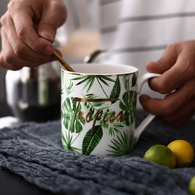 Tropical Series Coffee Mugs