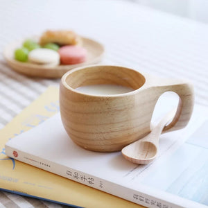 Japanese Wooden Milk Cup