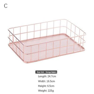 Nordic Style Storage Basket Series
